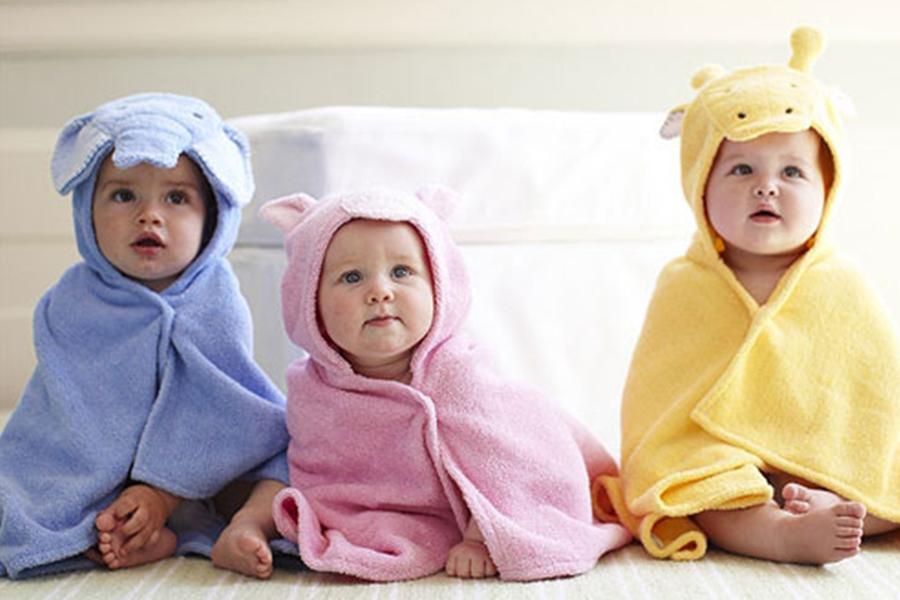 Quần áo cho trẻ sơ sinh trong mùa dịch Corona - Khăn quấn