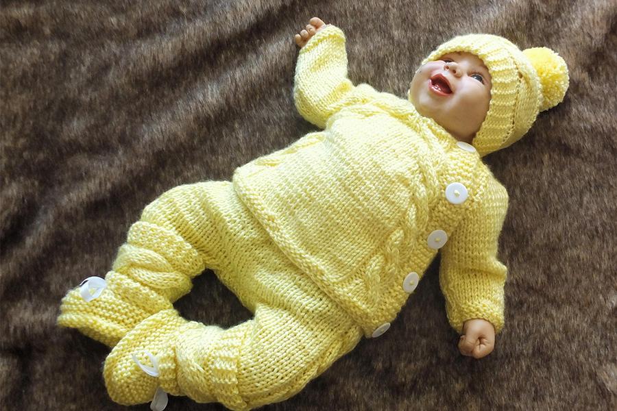 Xu hướng màu sắc quần áo trẻ em sơ sinh 2020 - Màu vàng